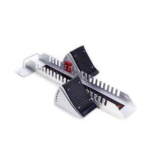 Bloco de partida de alumínio e aço com ajustes de distância e inclinação Pista e Campo 1