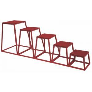 Escada tipo caixas para treinamento pliométrico Pista e Campo