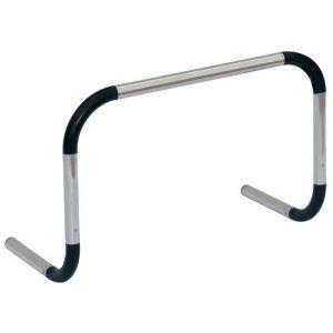 Barreirinha de alumínio para treinamento Pista e Campo - Largura: 60cm. Altura: 60cm