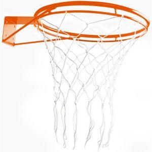 Aro oficial de basquete de aço 46cm com rede Pista e Campo