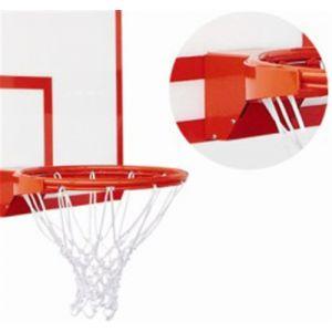 Aro oficial de basquete de aço retrátil (com amortecedor) modelo profissional Pista e Campo