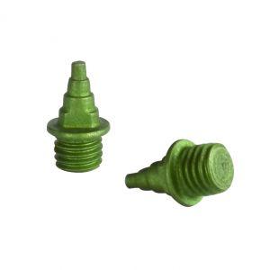 Prego de alumínio e cerâmica para sapatilha de atletismo de compressão (árvore de natal) Pista e Campo