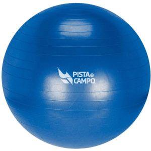 Bola de ginástica pilates (gym ball) inflável 55cm anti estouro Pista e Campo - com bomba