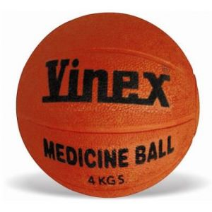 Bola medicinal (medicine ball) de borracha 3kg Vinex