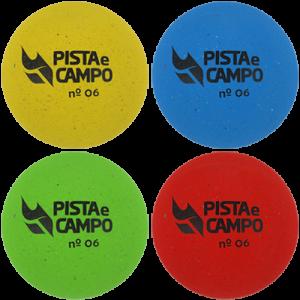 Bola de borracha para iniciação nº 06 Pista e Campo