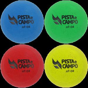 Bola de borracha para iniciação nº 08 Pista e Campo