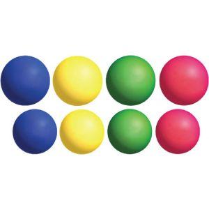 Bola de borracha cores sortidas Pista e Campo - cnj com 4 und nº 3 e 4 und nº 4