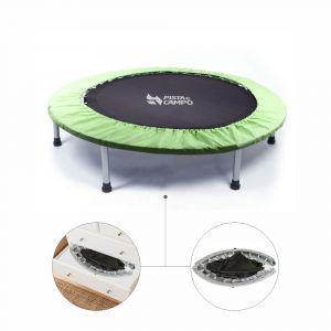 Mini Jump Cama Elástica Profissional dobrável 36 molas de aço com capa Pista e Campo capa