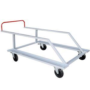 Carrinho para transporte e armazenagem de 20 barreiras Pista e Campo