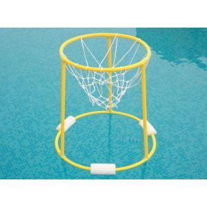 Cesta de PVC flutuante para basquetebol aquático Pista e Campo - par