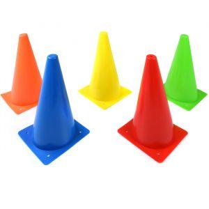 Cone de sinalização 30cm de PVC Pista e Campo