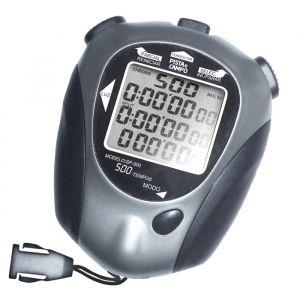 Cronômetro digital profissional 500 memórias Pista e Campo