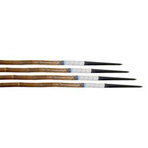 Conjunto com 12 dardos de bambu Pista e Campo