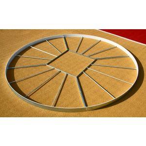 Círculo de aço para piso do setor de disco IAAF Polanik