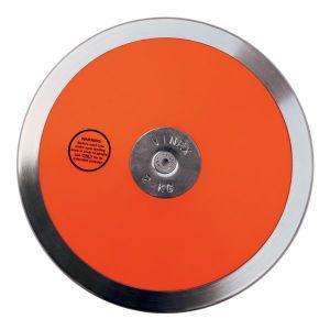 Disco de aço e ABS 1,5kg Iniciante IAAF Vinex