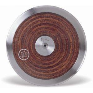 Disco de aço e madeira 1,5kg Vinex