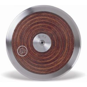 Disco de aço e madeira 1kg Vinex