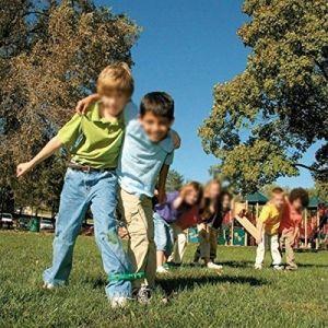 Fita com velcro para recreação corrida coletiva Pista e Campo
