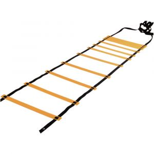 Escada de agilidade com degraus ajustáveis de plástico 4m de comprimento Pista e Campo