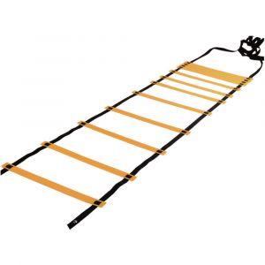 Escada de agilidade com degraus ajustáveis de plástico 8m de comprimento Pista e Campo