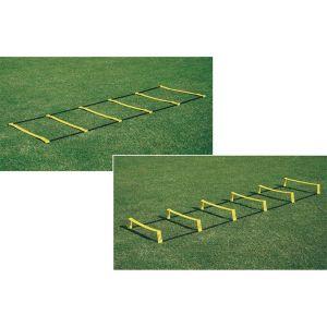 Escada de agilidade com 6 degraus ajustáveis na altura e distância 2,75m premium Pista e Campo - NOVIDADE!!!