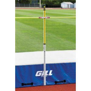 Medidor telescópico de salto em altura e salto com vara 5m Pista e Campo