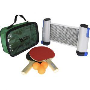 Kit Ping Pong E Tênis De Mesa Com Rede Retrátil 1,60m