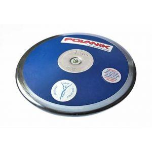 Disco de aço inox e fibra de vidro 2kg IAAF Polanik