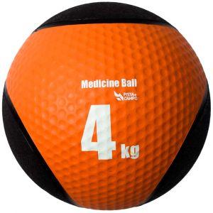 Medicine ball de borracha inflável premium 4kg Pista e Campo