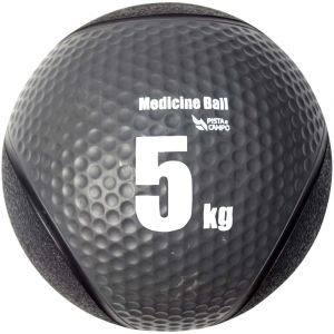 Medicine ball de borracha inflável premium 5kg Pista e Campo