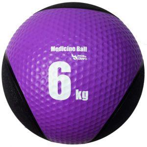 Medicine ball de borracha inflável premium 6kg Pista e Campo