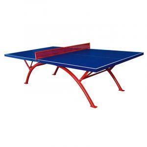 Mesa de tênis de mesa outdoor de fibra de vidro Pista e Campo