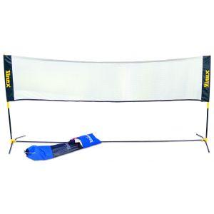 Kit para mini-badminton (rede, postes metalicos e bolsa de transporte) Pista e Campo