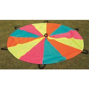 Paraquedas cooperativo colorido fluorescente 4 ou 5m Pista e Campo