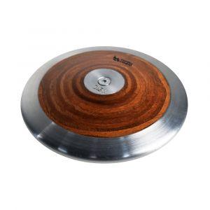 Disco de Aço e Madeira 2.5kg Pista e Campo capa