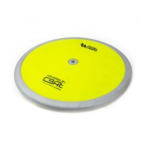 Disco de atletismo de aço e ABS 1Kg Powered by CBAt