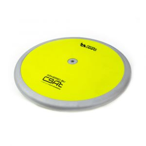 Disco de atletismo de aco e ABS 2kg Pista e Campo Powered by CBAt capa