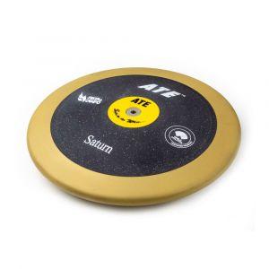 Disco de atletismo de bronze e ABS 1,00kg 83% avançado ATE Saturn - Certificado WA-IAAF