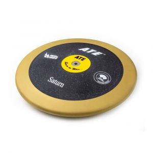 Disco de atletismo de bronze e ABS 2,00kg 83% avançado ATE Saturn - Certificado WA-IAAF
