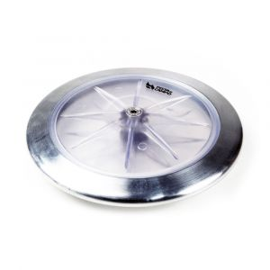 Disco transparente 1,5Kg Avançado Pista e Campo