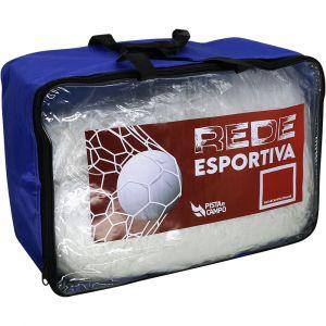 Rede Oficial Futebol De Salão Futsal S/ Nós Colmeia Seda 4mm Pista e Campo preview