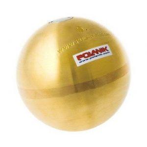 Peso de bronze 5kg 110mm IAAF Polanik