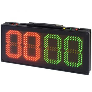 Placar esportivo de substituição de atletas com quatro digitos em LED Pista e Campo