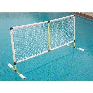 Postes e rede de PVC para voleibol aquático Pista e Campo