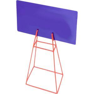 Quadro e placa de aviso com suporte para recreação infantil Pista e Campo