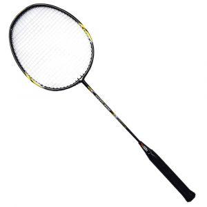 Raquete de badminton de fibra de carbono premium Pista e Campo capa