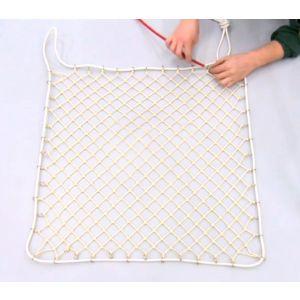Rede com elásticos de tchoukball para reposição 1 x 1m certificado pela FITB Vinex