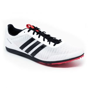 Sapatilha de atletismo para fundo Adidas Distancestar Branca preview