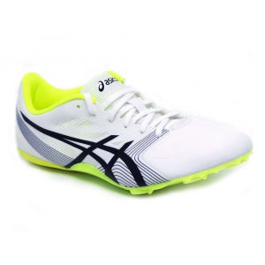 Sapatilha de atletismo para velocidade Asics Hyper Sprint Branca/Amarela preview