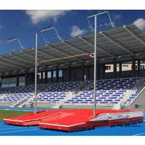 Postes para salto com vara modelo avançado WA-IAAF Polanik